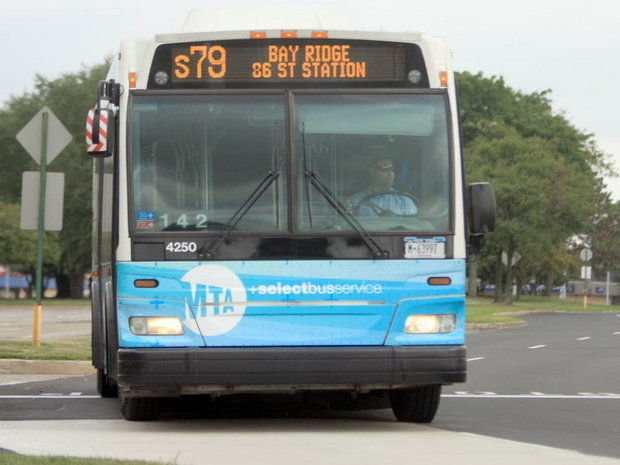 Select bus service, the city's version of bus rapid transit, is considered to be a possible way to ease traffic congestion on the North Shore. (Advance file photo)